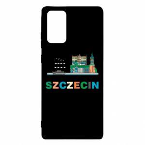 Etui na Samsung Note 20 Miasto Szczecin
