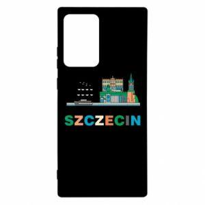 Etui na Samsung Note 20 Ultra Miasto Szczecin