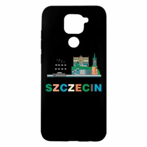 Xiaomi Redmi Note 9 / Redmi 10X case % print% City Szczecin 2