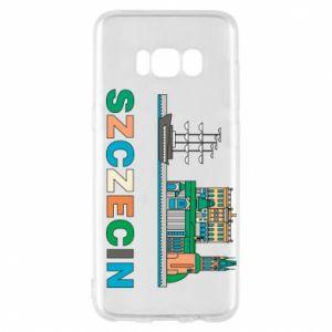 Etui na Samsung S8 Miasto Szczecin