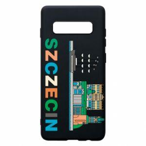 Etui na Samsung S10+ Miasto Szczecin