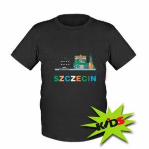 Koszulka dziecięca Miasto Szczecin