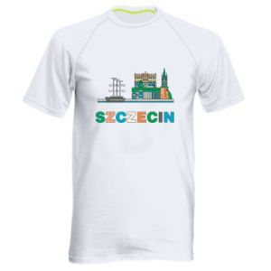 Men's sports t-shirt City Szczecin 2