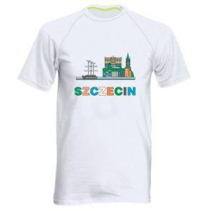 Męska koszulka sportowa Miasto Szczecin