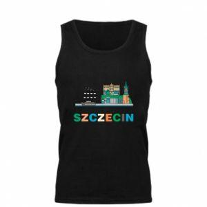Męska koszulka Miasto Szczecin