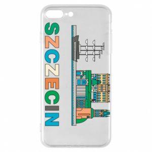Etui na iPhone 8 Plus Miasto Szczecin