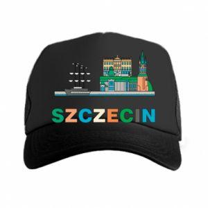 Czapka trucker Miasto Szczecin