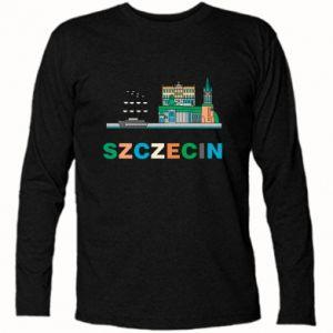 Koszulka z długim rękawem Miasto Szczecin