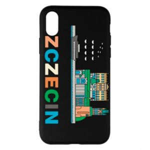 iPhone X/Xs Case City Szczecin 2