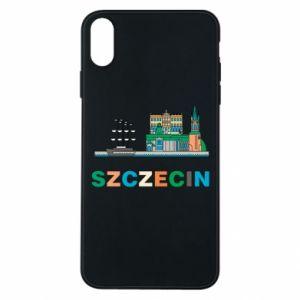 Etui na iPhone Xs Max Miasto Szczecin