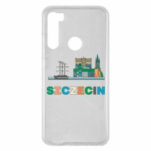 Etui na Xiaomi Redmi Note 8 Miasto Szczecin