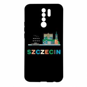 Etui na Xiaomi Redmi 9 Miasto Szczecin