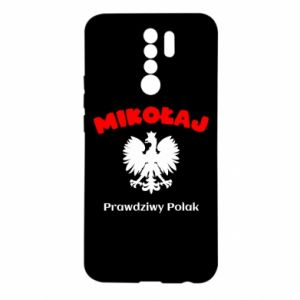 Phone case for Samsung J4 Plus 2018 Nicholas is a real Pole - PrintSalon