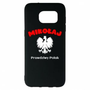 Phone case for Samsung A20 Nicholas is a real Pole - PrintSalon