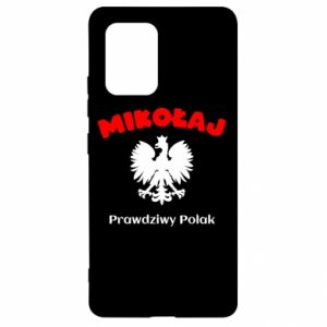 Phone case for Samsung A30 Nicholas is a real Pole - PrintSalon