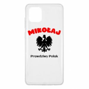 Phone case for Samsung A40 Nicholas is a real Pole - PrintSalon