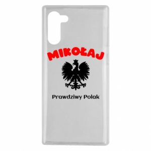 Phone case for Samsung A60 Nicholas is a real Pole - PrintSalon