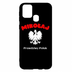 Phone case for Samsung A70 Nicholas is a real Pole - PrintSalon