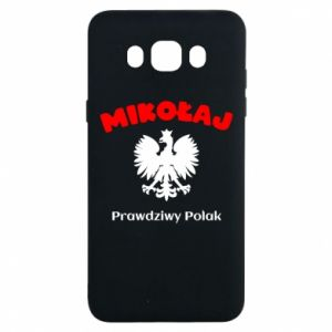Phone case for Samsung S8 Nicholas is a real Pole - PrintSalon