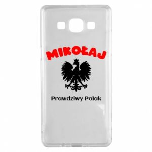 Phone case for Samsung S9 Nicholas is a real Pole - PrintSalon