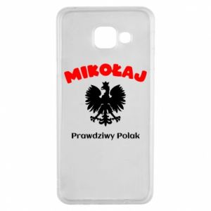 Phone case for Samsung S10e Nicholas is a real Pole - PrintSalon