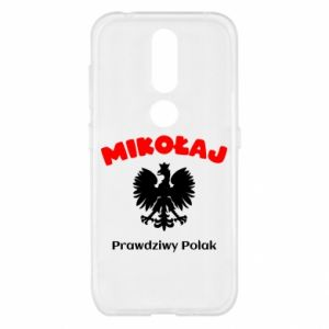 Phone case for Huawei Y5 2018 Nicholas is a real Pole - PrintSalon