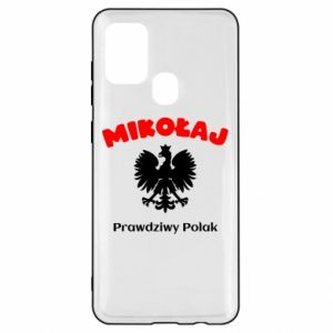 Phone case for Mi A2 Lite Nicholas is a real Pole - PrintSalon