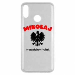 Phone case for Samsung A6 2018 Nicholas is a real Pole - PrintSalon