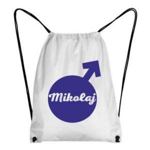 Plecak-worek Mikołaj