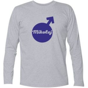 Long Sleeve T-shirt Nicholas