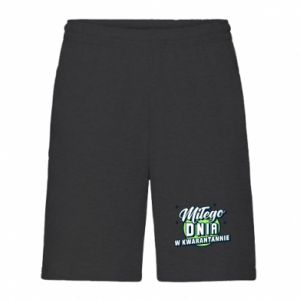 Men's shorts Have a nice day in quarantine