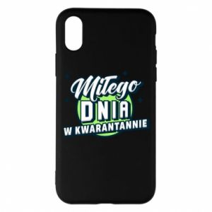 iPhone X/Xs Case Have a nice day in quarantine