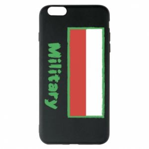 Etui na iPhone 6 Plus/6S Plus Military i flaga Polski