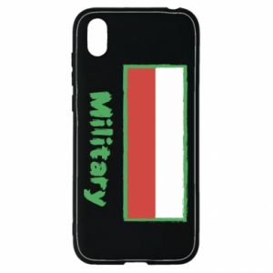 Huawei Y5 2019 Case Military and the flag of Poland