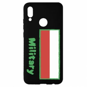 Huawei P Smart 2019 Case Military and the flag of Poland