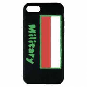 iPhone SE 2020 Case Military and the flag of Poland