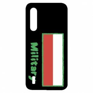 Xiaomi Mi9 Lite Case Military and the flag of Poland