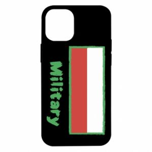 iPhone 12 Mini Case Military and the flag of Poland
