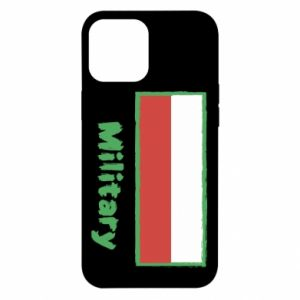 iPhone 12 Pro Max Case Military and the flag of Poland