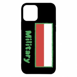 iPhone 12/12 Pro Case Military and the flag of Poland
