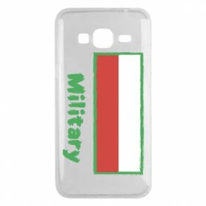 Samsung J3 2016 Case Military and the flag of Poland