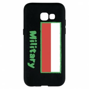 Samsung A5 2017 Case Military and the flag of Poland