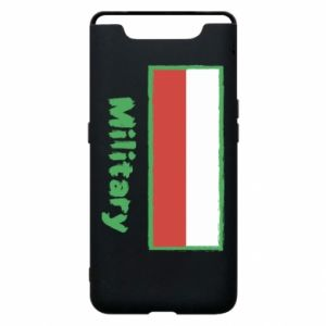 Samsung A80 Case Military and the flag of Poland