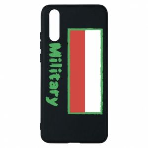 Huawei P20 Case Military and the flag of Poland