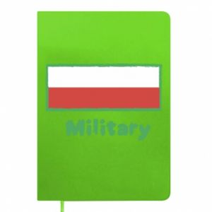 Notes Military i flaga Polski