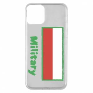 Etui na iPhone 11 Military i flaga Polski