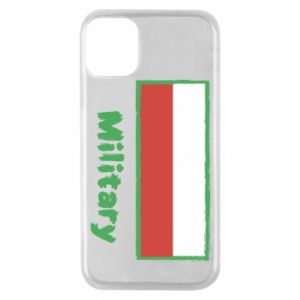 iPhone 11 Pro Case Military and the flag of Poland