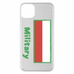 iPhone 11 Pro Max Case Military and the flag of Poland