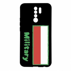 Xiaomi Redmi 9 Case Military and the flag of Poland