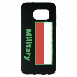 Samsung S7 EDGE Case Military and the flag of Poland